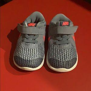 Nike Revolution Baby Athletic Shoe Size 4C